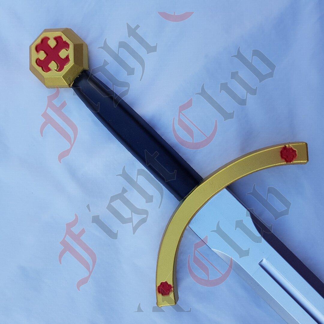 Templar Sword - Rubber